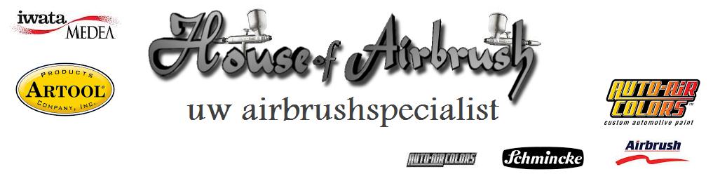 House of airbrush voor al uw airbrushmaterialen